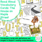 Read Aloud Vocabulary Cards: The House on Maple Street