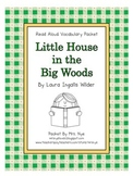 Read Aloud Vocabulary: Little House in the Big Woods