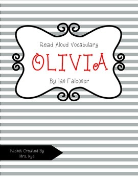 Read Aloud Vocabulary for Olivia
