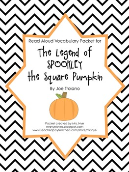 Read Aloud Vocabulary: Spookley the Square Pumpkin