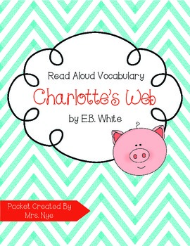 Read Aloud Vocabulary: Charlotte's Web