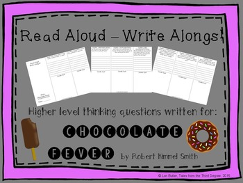 Read Aloud Write Along for Chocolate Fever