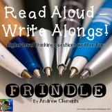 Frindle: Read Aloud Write Along