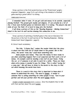 Read Aloud and More - USA - Grade 1