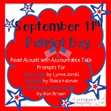 Read Aloud with Accountable Talk for September 11th  Patriot Day