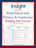 Read Aloud with Fluency and Expression Reading Mini Lesson, 2nd-5th