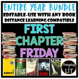 First Chapter Friday - Full Year! - Distance Learning