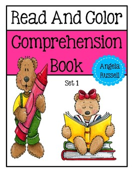 Read And Color Comprehenison Book - Set 1