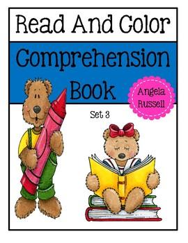 Read And Color Comprehenison Book - Set 3