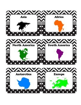 Read Around the World - Library Labels - Global Citizenship, Diversity