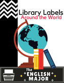 Read Around the World - Library Labels - Global Citizenshi