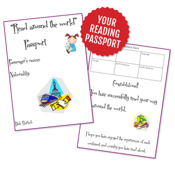 """""""Read Around the World"""" passport - Book reviews/ reports"""