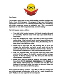 Read At Home Parent Letter