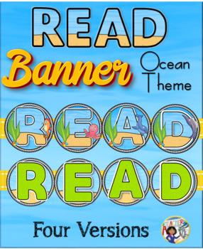 Read Banner ~ Ocean Theme