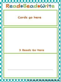 Read-Bead-Write: Differentiated Self-Correcting CVC-CCVC/CVCC Common Core Fun