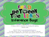 Read Between the Lines {Inference Bags Mini-Lesson/Literac