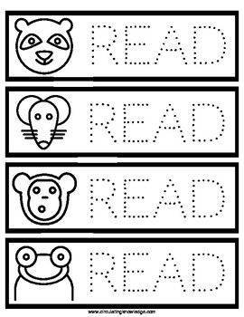 Read Bookmarks - Ready to be colored!
