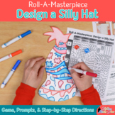 Read Across America Craft: Silly Hat Art Sub Plans, Writing Prompts, & Template