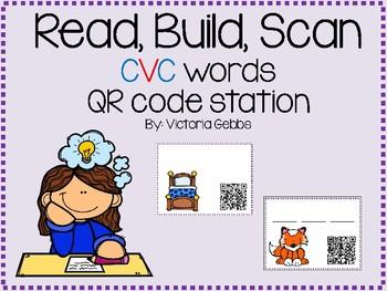 Read, Build, Scan CVC Words