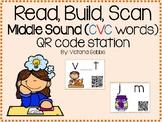 Read, Build, Scan Middle Sounds (CVC Words)
