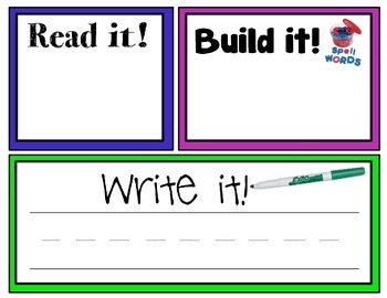 Read, Build, Write!
