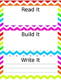 Read, Build, Write