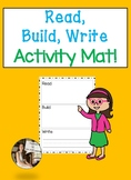 Read, Build, Write Activity Mat
