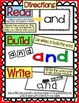 Read, Build & Write Center- Dolch/High Frequency Words