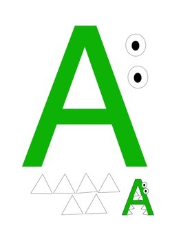 photograph about Printable Letter a known as Printable Letter A and B Crafts