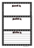 Read Build Write- Sight Words