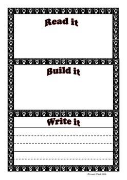 Read Build Write- Sight Words