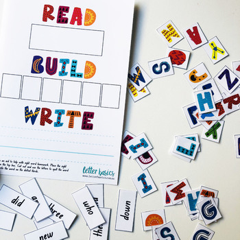 Read Build Write Sight Words
