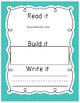 Read, Build, Write Word Work for Third Grade