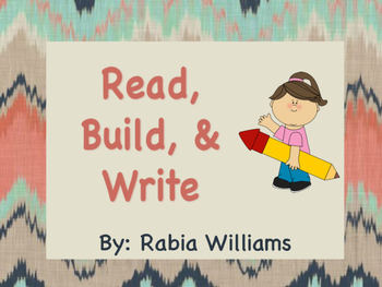 Read, Build, and Write (Sample)