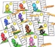 Read Color Words and Match Colors Clip Center (Kindergarten and First Grade)