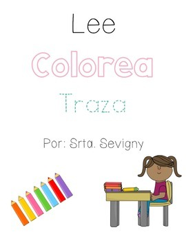Read, Color, and Trace in Spanish