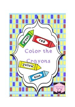 Read & Color the Crayons US