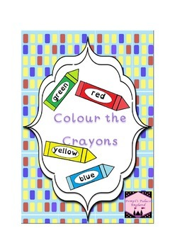 Read & Colour the Crayons UK