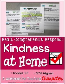 Kindness Reading Comprehension