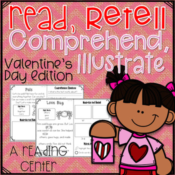 Read, Comprehend, Retell, and Illustrate- Reading Center V