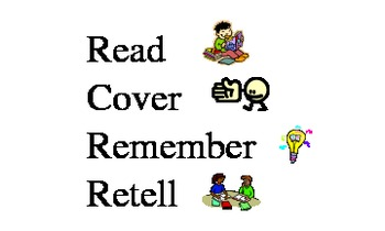Read, Cover, Remember, Retell