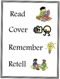 Read, Cover, Remember, Retell Poster