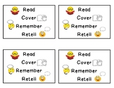 Read, Cover, and Retell Bookmarks