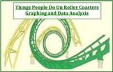 Read & Create Graphs: Fun, Roller Coaster Graphing Sheet