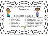 Read Cut Glue Write and Illustrate set 1