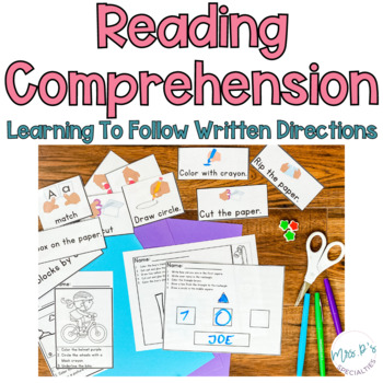 Read & Do: Learning To Read and Follow Written Directions