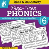 Read & Dot | Prep-Free Phonics | Distance Learning