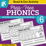 Read & Dot | Prep-Free Phonics | Distance Learning