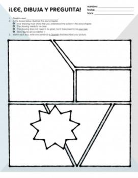 Read Draw Ask Sub Plan