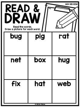 Read & Draw {CVC}